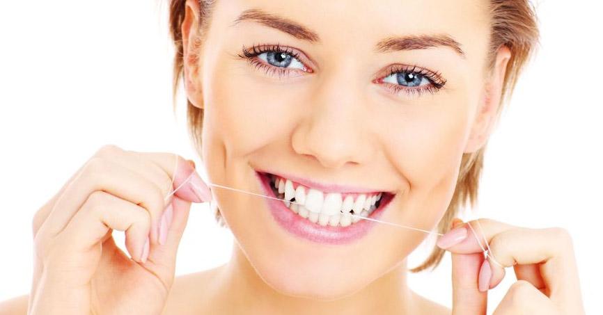 fio dental limpeza